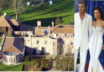 David and Victoria Beckham House