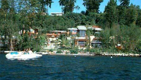 Bill Gates House- View from lake 2