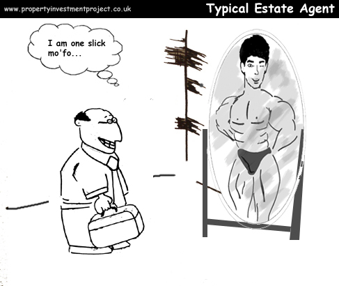 Typical Estate Agent Comic