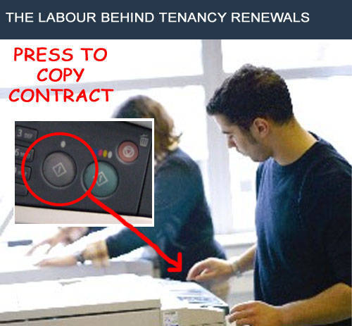 Tenancy Renewal Fee