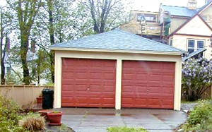 Increasing the value of a property by adding a garage