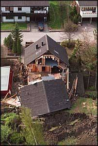 Home destroyed by Landslide 2