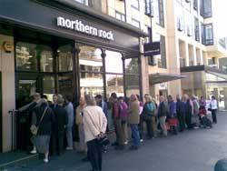 Northern Rock Queues