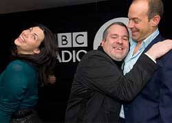 Kirstie Allsopp, Phil Spencer and Chris Moyles