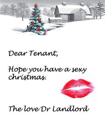 Sexy Christmas Card Message