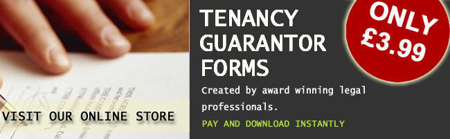 tenant guarantor form guide