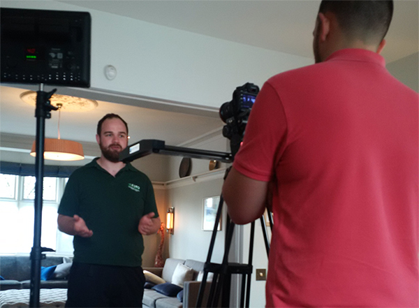 Legionella Video Cameraman