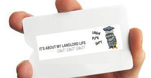 New Property Investment Project Business Cards