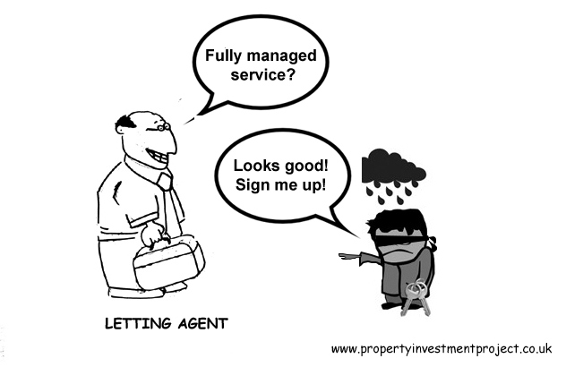 Fully managed letting service