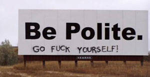 The Lost Art Of Being Polite