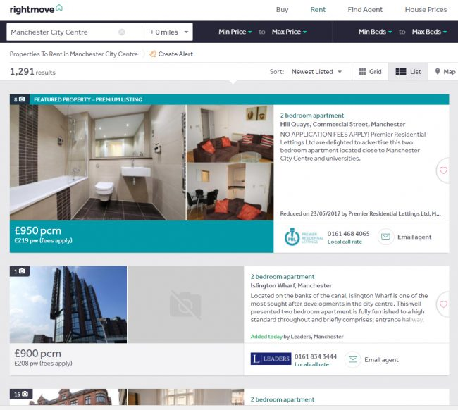 Rightmove Featured Listing