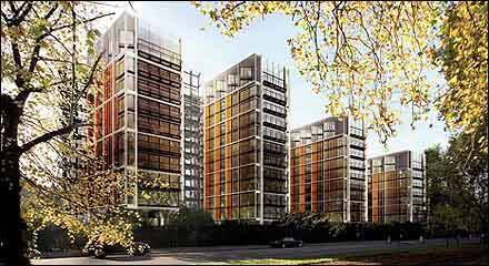 84 million pound flats