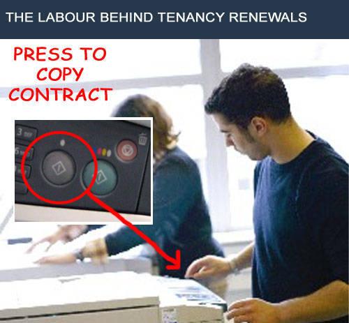 Tenancy Renewal Fee