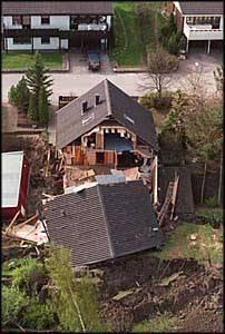 Home destroyed by Landslide 2