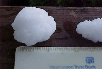 Home destroyed by Hailstones 2