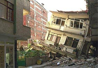 Home destroyed by Earth Quake 2