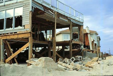 Home destroyed by Hurricane Hugo