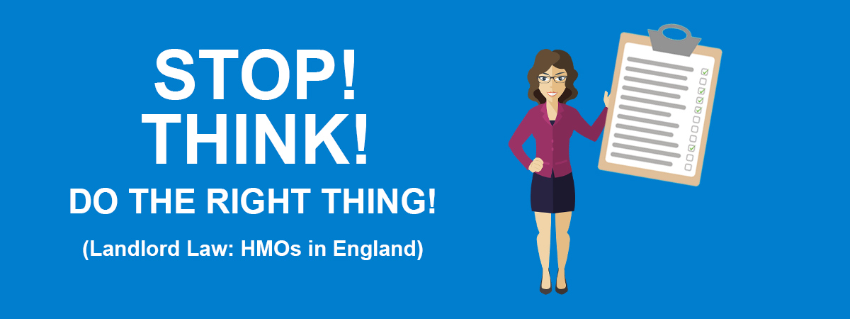 HMO Legal Requirements & Regulations (England Only)