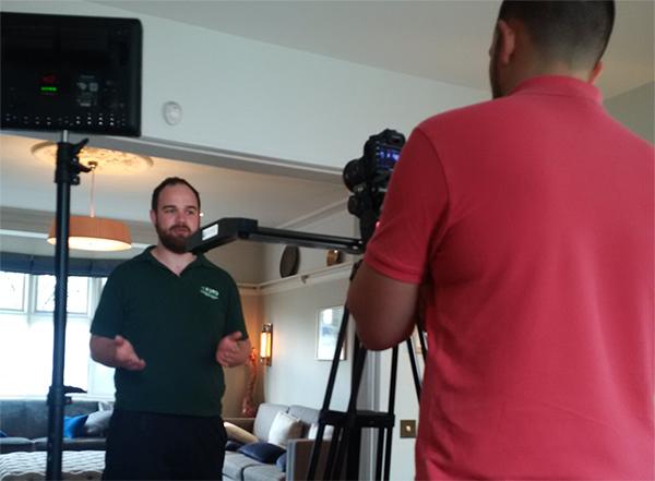 Legionella Video Cameraman