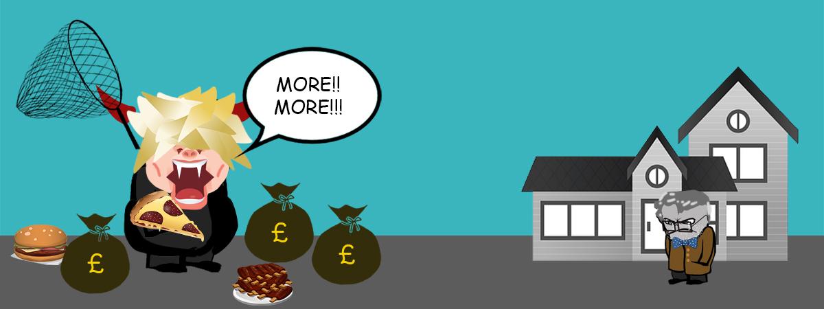 Greedy landlord