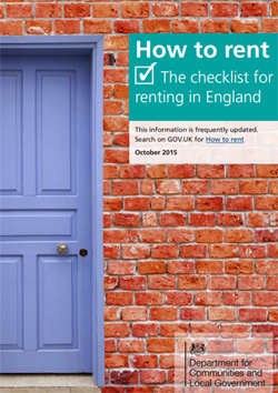 How to rent: the checklist for renting in England