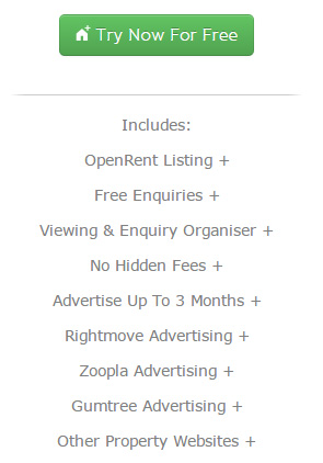 OpenRent FREE Package