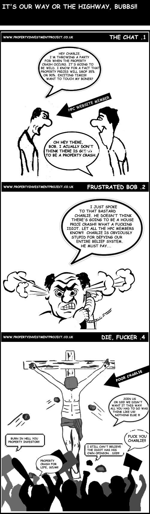 House Price Crash Mentality Comic