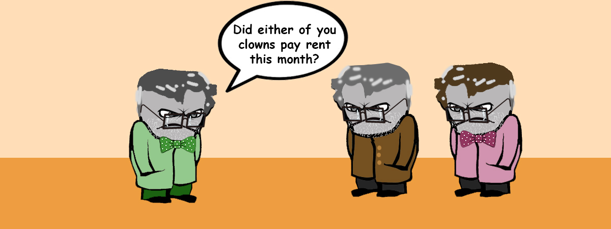 Renting at an old age