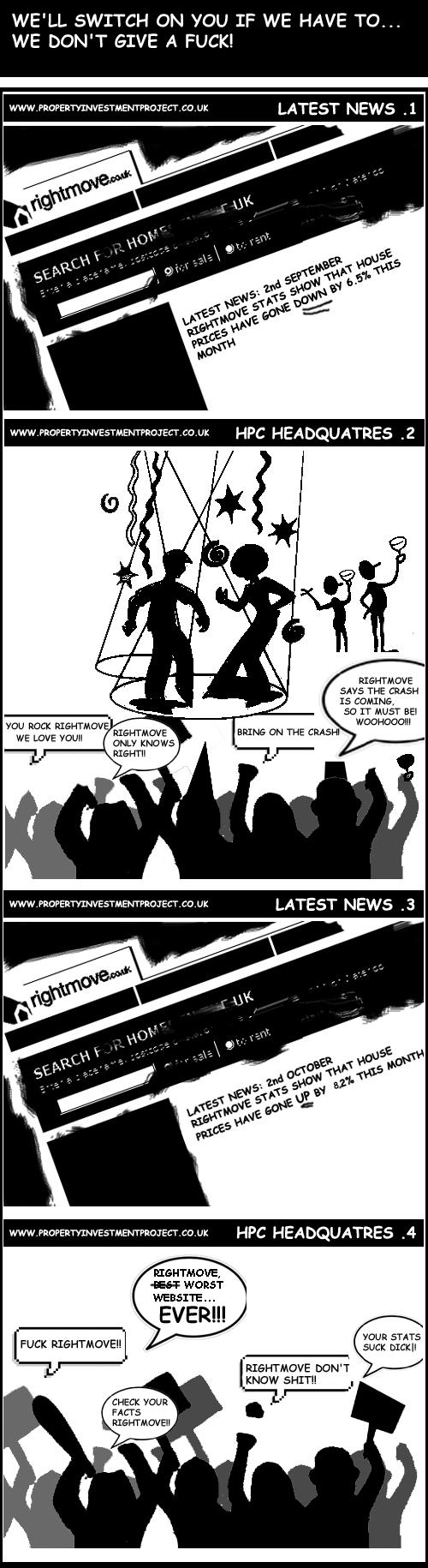 House Price Crash Mentality Comic 2