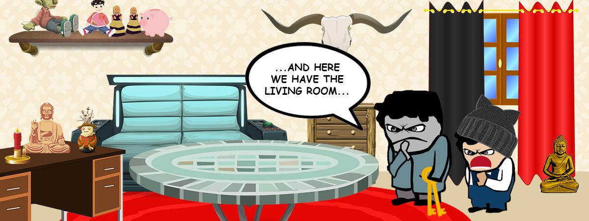 Tenants disgusting furniture