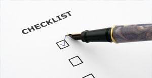 Referencing Checklist